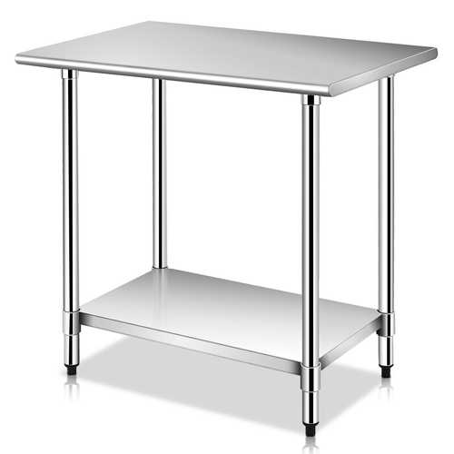"24"" x 36"" Commercial Kitchen Stainless Steel Work Prep Table"