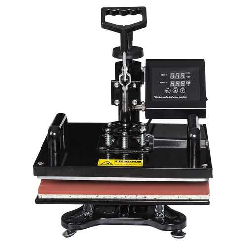 6 in 1 Digital Transfer Heat Press Machine
