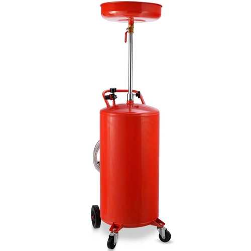 20 Gallon Portable Waste Operated Oil Drain Tank