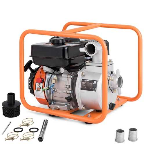 7 HP 4-Stroke Portable Gasoline Water Transfer Pump