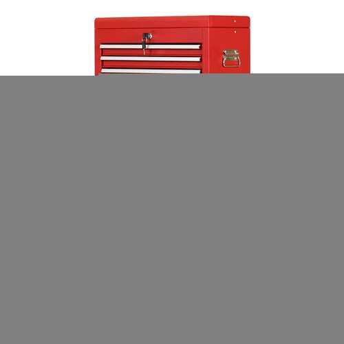 Rolling Cabinet Storage Chest Box Garage Toolbox Organizer-Red