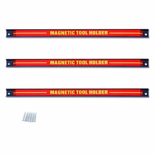 "3 pcs 18"" Magnetic Tool Bar Holder Knife"