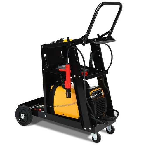 3-tier Welding Cart Plasma Cutter Welder MIG TIG ARC Universal