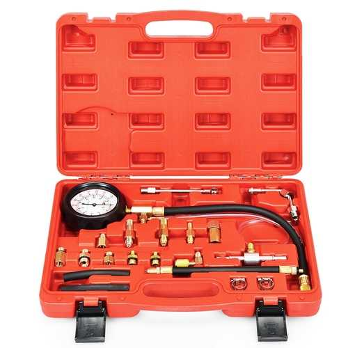 Fuel Injector Injection Pump Pressure Tester Gauge Car Tools