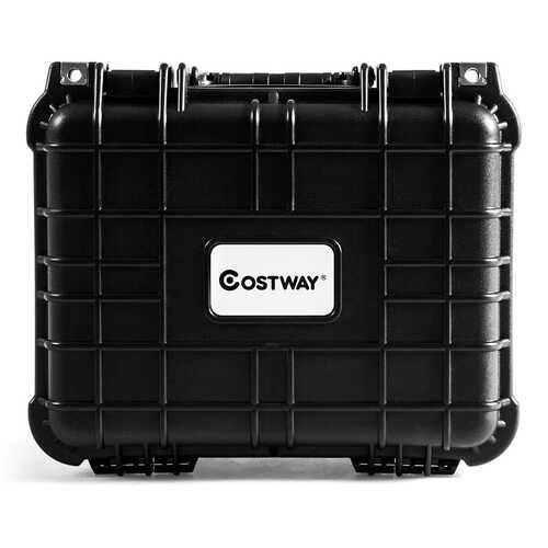 Weatherproof Shockproof Camera Lens Box w/ Customizable Foam