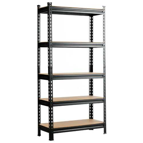 5-Tier Steel Shelving Unit Storage Shelves Heavy Duty Storage Rack