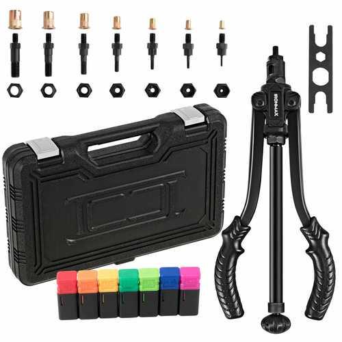"""14"""" Rivet Nut Setter Tool Kit with Case"""