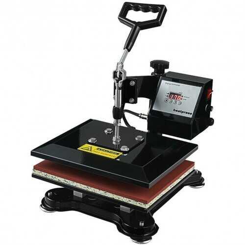 "12"" x 10"" Heat Press Machine Swing-Away Digital Transfer Sublimation T-Shirt"