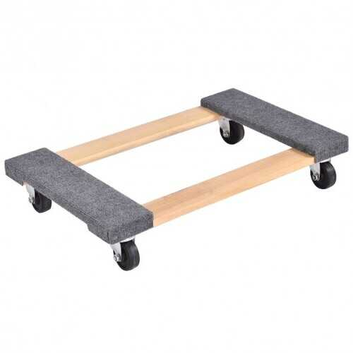 """30"""" x 18"""" Furniture Moving Carrier Dolly with Casters"""