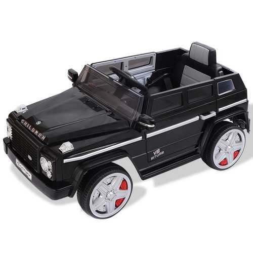 12 V MP3 Kids Remote Control Riding Car with LED Lights