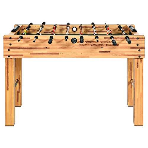 "48"" Foosball Table Indoor Soccer Game-Beige"