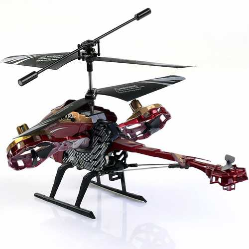 New Skytech 4.5CH M12 Infrared RC Helicopter Shoot Bubbles With Gyro 3 Color-black