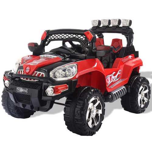 12V Kids Ride On Truck Car SUV RC Remote Control w/LED Lights