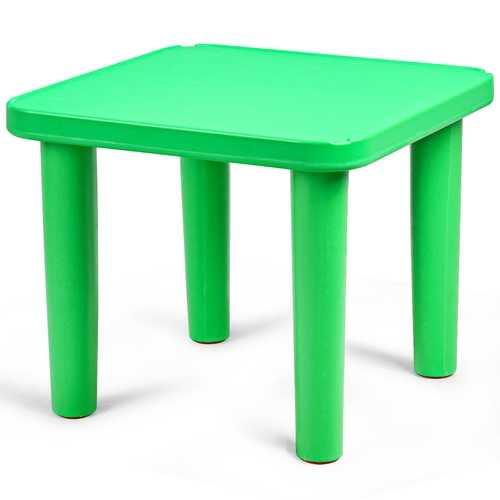 "Kids Play & Learn Portable Plastic 24"" Square Table"