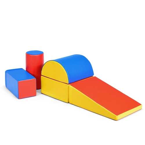 5-Piece Set Climb Activity Play Safe Foam Blocks