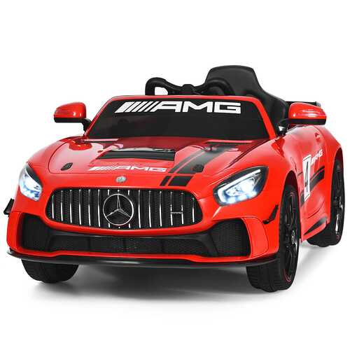 12V Kids Ride On Car with Remote Control-Red