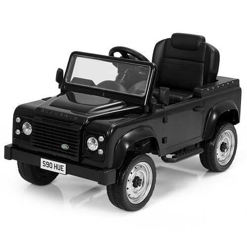 Landrover Defender Licensed Pedal Powered Car-Black