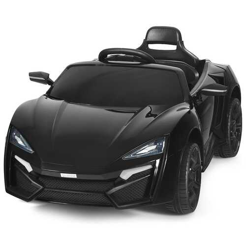 12V 2.4G RC Electric Vehicle with Lights-Black