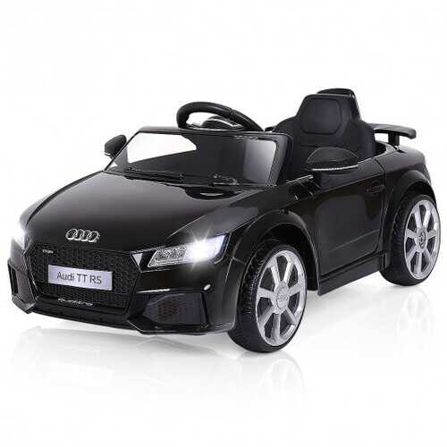 12V Audi TT RS Electric Remote Control MP3 Kids Riding Car-Black - Color: Black