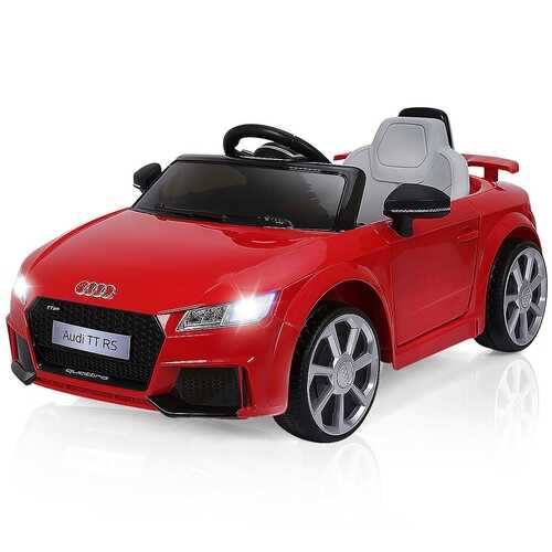 12 V Kids Electric Remote Control Riding Car-Red