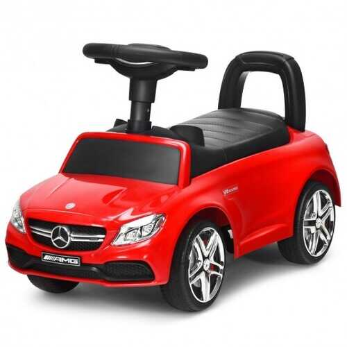 Mercedes Benz Licensed Kids Ride On Push Car-Red - Color: Red