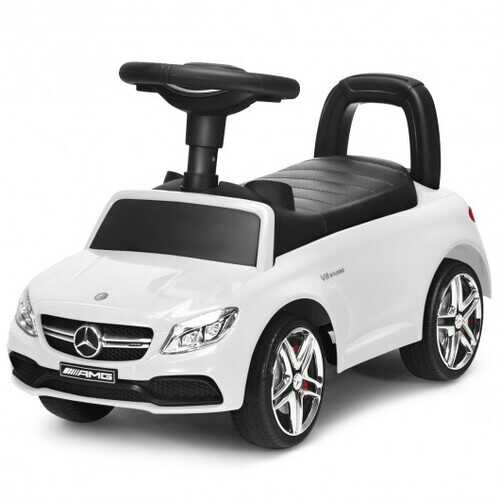 Mercedes Benz Licensed Kids Ride On Push Car-White - Color: White