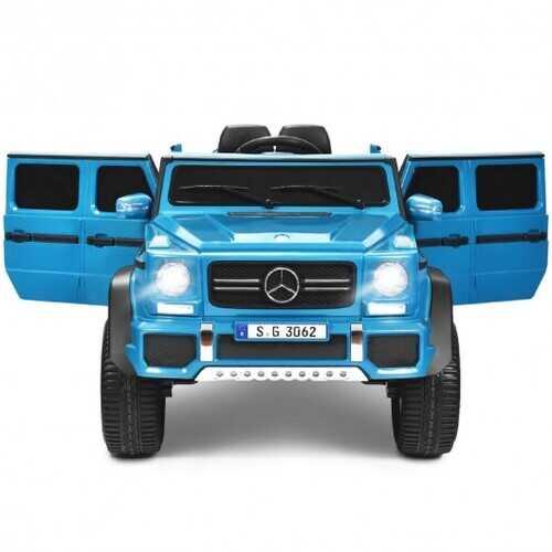 12V Licensed Mercedes-Benz Kids Ride On Car-Navy - Color: Navy