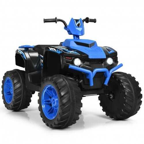 12V Kids 4-Wheeler ATV Quad Ride On Car -Navy - Color: Navy