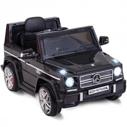 Mercedes Benz G65 Licensed Remote Control Kids Riding Car-Black - Color: Black