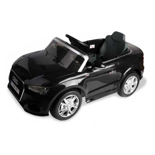 12 V Audi A3 Kids Ride on Car with RC + LED Light + Music-Black - Color: Black