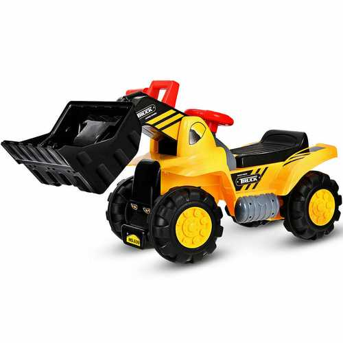 Kids Toddler Ride on Truck Excavator Digger