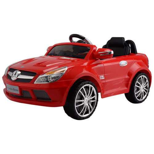 12 V Mercedes-Benz SL65 Kids Ride on Car with Music + RC