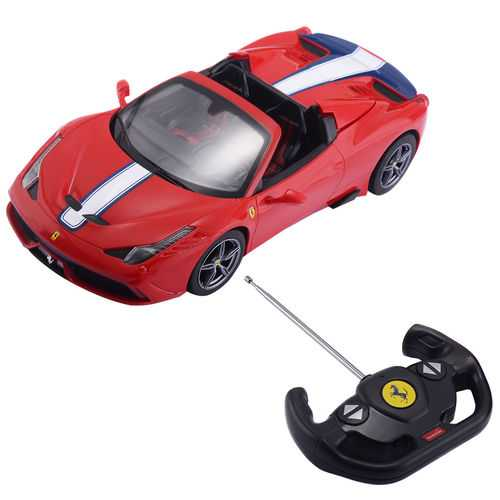 1:14 Ferrari 458 Speciale A Licensed Remote Control Car w/Lights & Sound