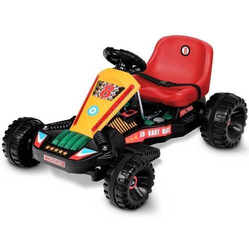 4 Wheels Electric Powered Go Kart Kids Ride on Car