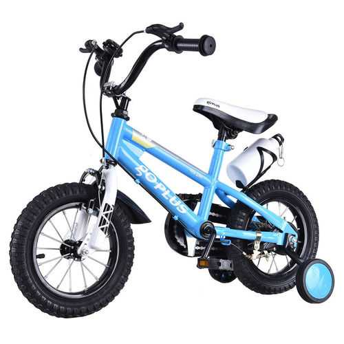 "16"" Children Boys & Girls Freestyle Bicycle with Training Wheels"