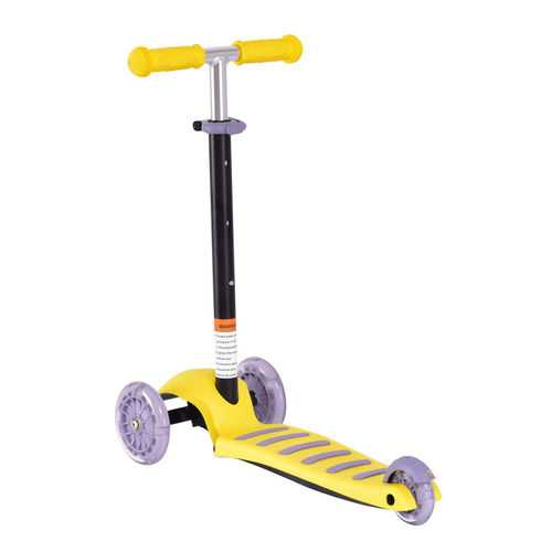 3 LED Light up PU Wheels Kids Kick Scooter with Adjustable Handle