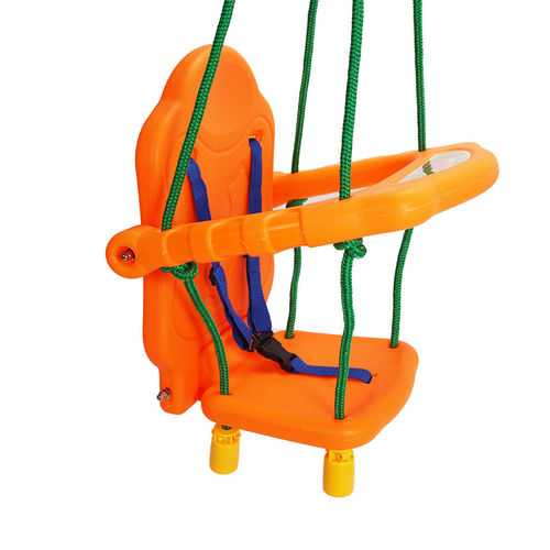 Outdoor Playground Kids Swing Seat Chai w/ Rope