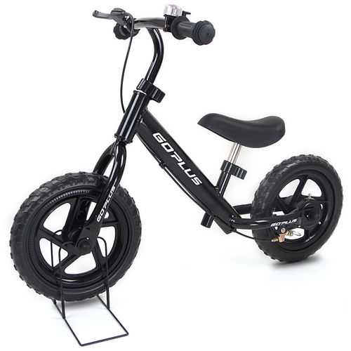 "12"" Four Colors Kids Balance Bike Scooter with Brakes and Bell"