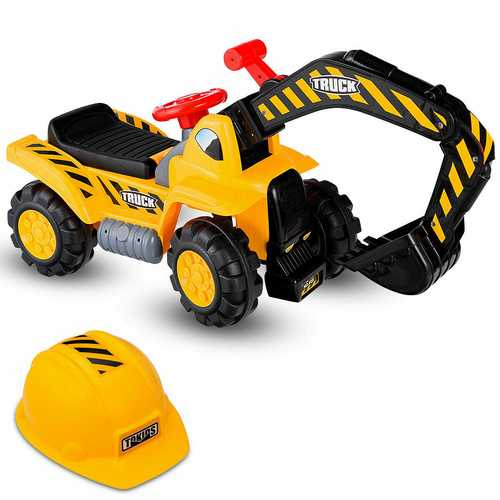 Kids Electronic Ride On Toy Excavator