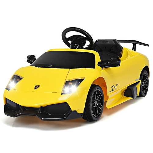 12 V Lamborghini Murciealgo Licensed Electric Kids Riding Car
