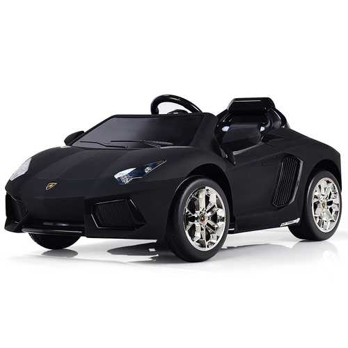 12 V Licensed Electric Kids Riding Car with Lights & Music