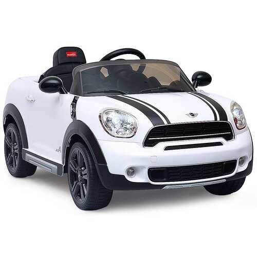 12 V Electric R/C Remote Control Kids Car-White