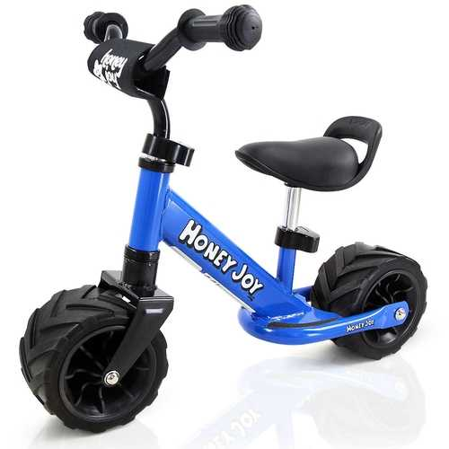 6.5'' Kids Cycling Training Adjustable No Pedal Balance Bike