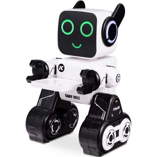 K3 Programmable Touch & Sound Control Piggy Sing Dance Robot-White - Color: White