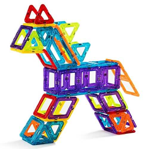 Magical Tiles Set Building Block Preschool Educational Construction Toy
