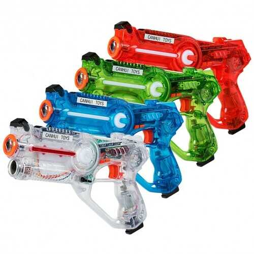 4-set Infrared Laser Tag Guns Battle Blasters