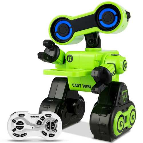Intelligent Programmable Interactive Remote Control Robot-Green