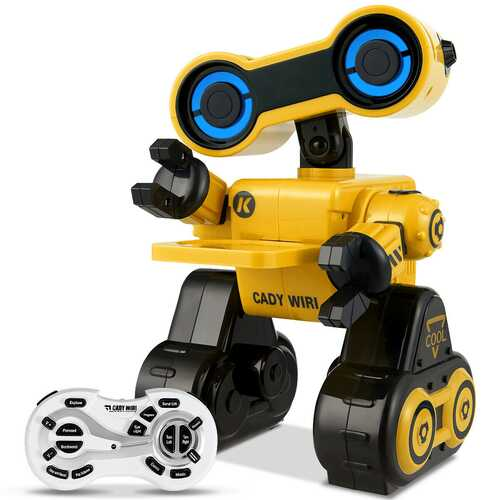 Intelligent Programmable Interactive Remote Control Robot-Yellow