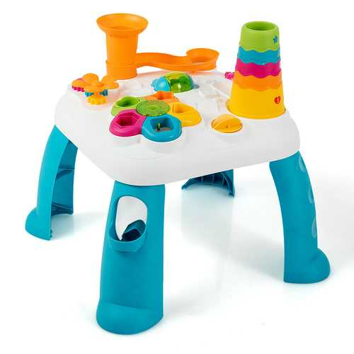 2 in 1 Early Education Toy Toddler Learning Table