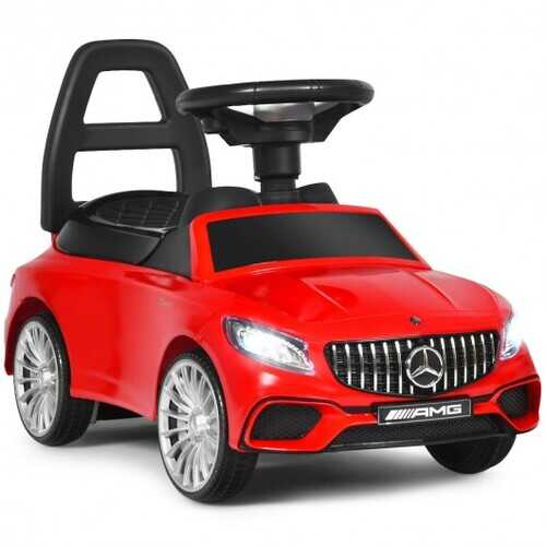Licensed Mercedes Benz Kids Ride On Push Car-Red - Color: Red